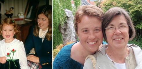 Kathy Thiel and daughter Krista Thiel