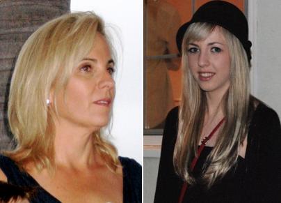 Caroline Gerardo & daughter Blaire Barbeau (2011)