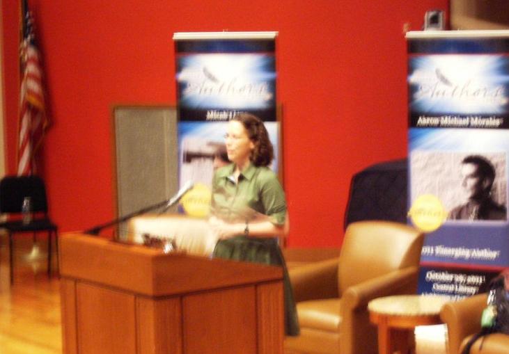 Keynoting the Indy Authors Fair (2011)
