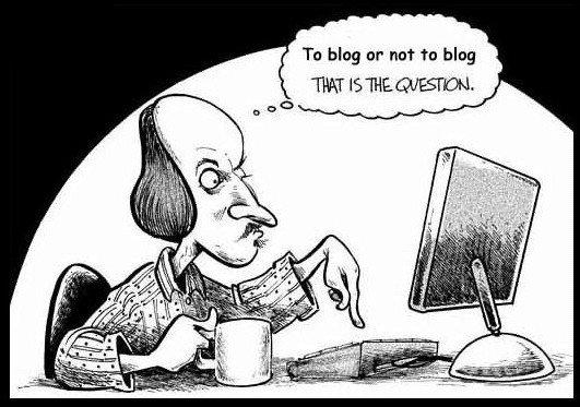 Should writers blog?