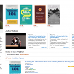Friedman Amazon Author Central