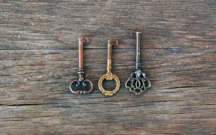 Image: three keys