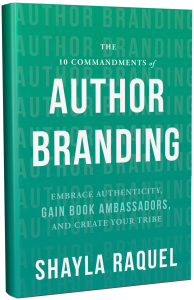 Image: 10 Commandments of Author Branding book cover