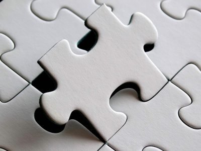 Image: final puzzle piece falling into place