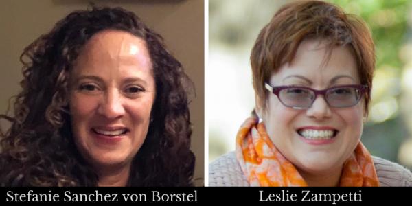 Stefanie Sanchez von Borstel and Leslie Zampetti