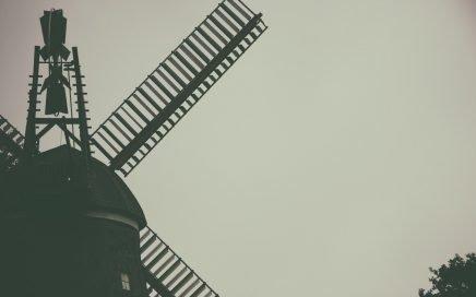 Image: historic windmill