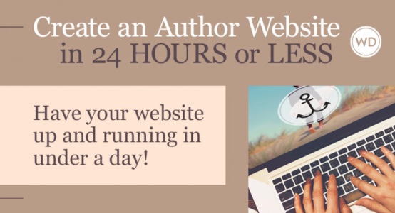 Writer's Digest online class Create an Author Website in 24 Hours or Less