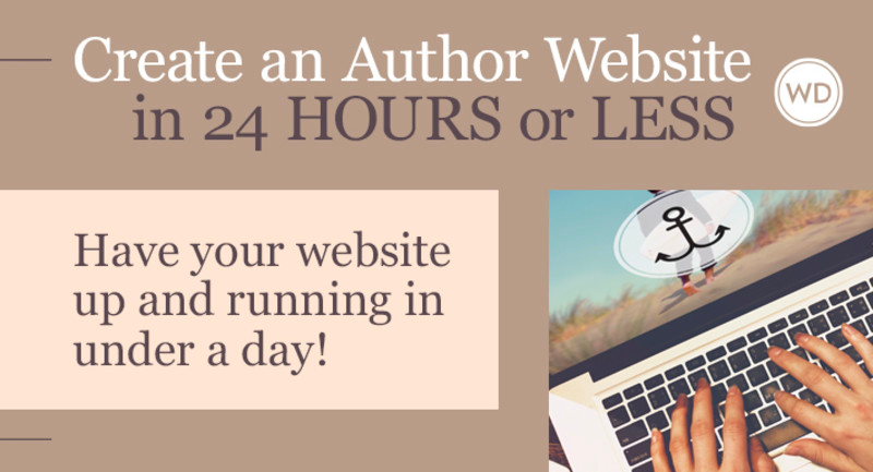 Writer's Digest online class Create an Author Website in 24 Hours or Less.