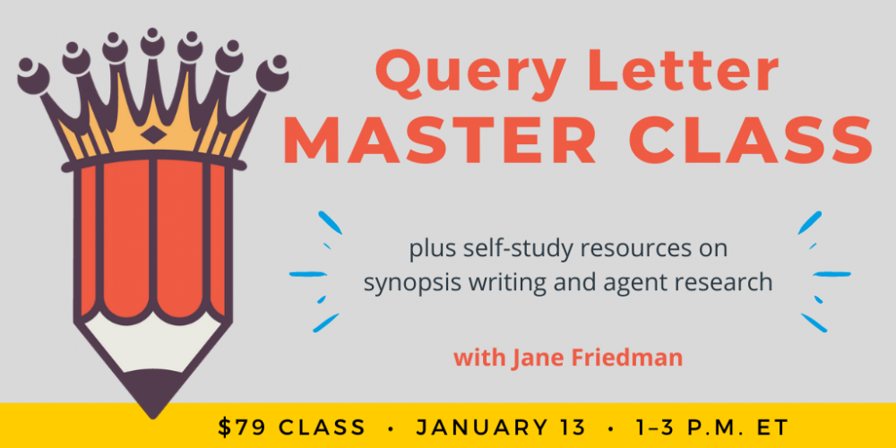 Query Letter Master Class