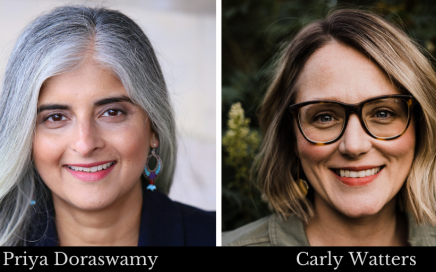 Priya Doraswamy and Carly Watters