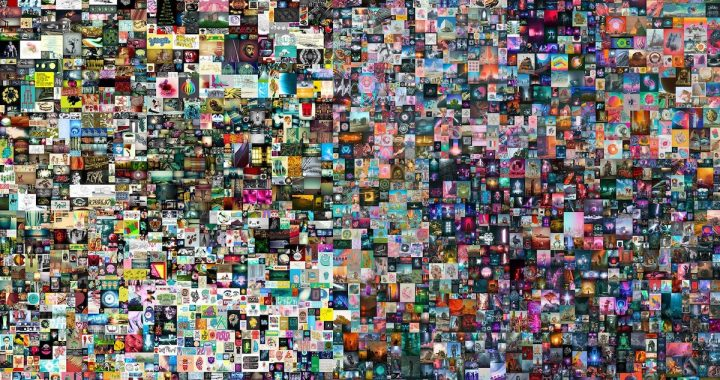 Everydays: The First 5000 Days by Beeple (Mike Winkelmann)