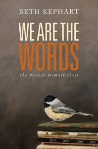We Are the Words by Beth Kephart