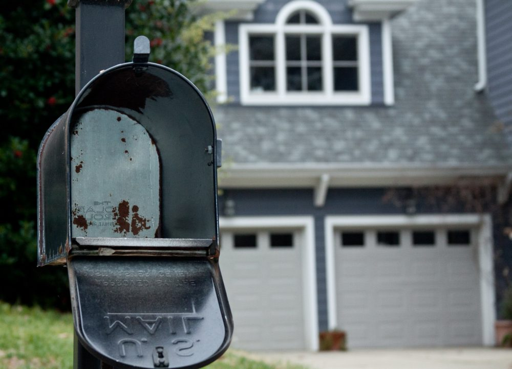 Image: empty mailbox