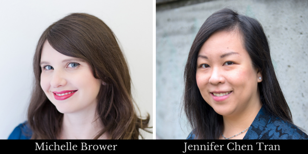 Michelle Brower and Jennifer Chen Tran