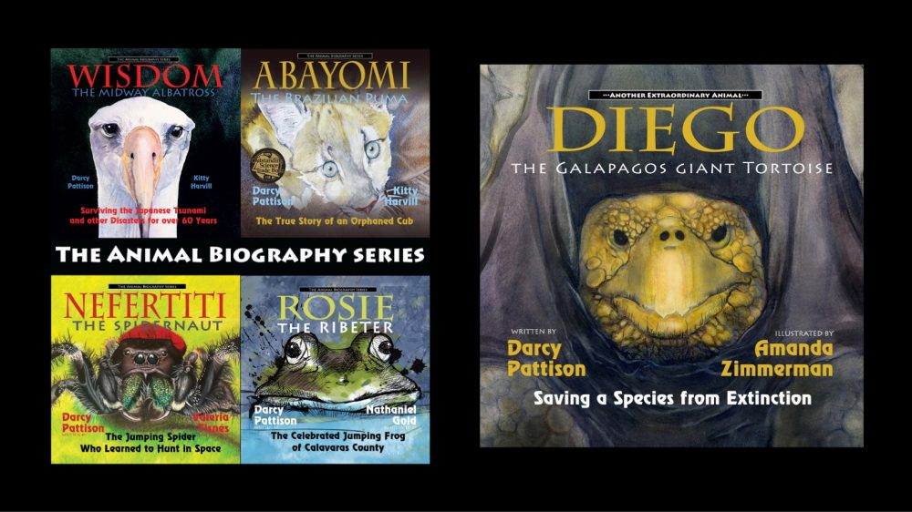 The Animal Biography series by Darcy Pattison