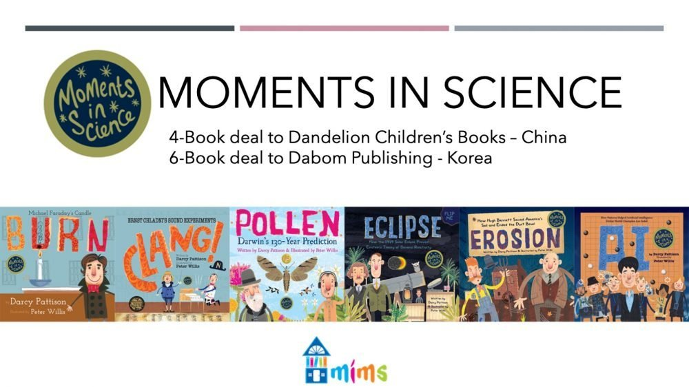 Moments in Science series by Darcy Pattison